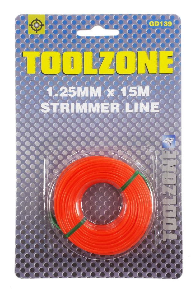 Toolzone 1.25Mm Strimmer Line