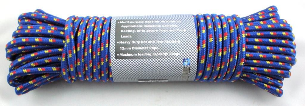 Toolzone 12Mm X 30M Multipurpose Utility Rope
