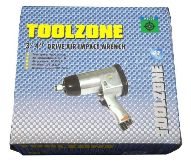 "Toolzone 3/4"" Air Impact Wrench"