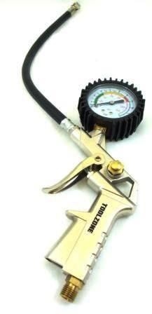 Toolzone Tyre Inflator And Dial Gauge