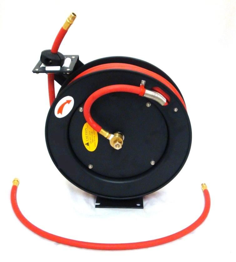 Toolzone 50Ft Retractable Air Hose On Reel