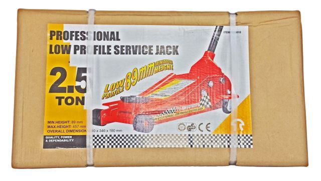 Toolzone 2.5 Ton Low Profile Trolley Jack