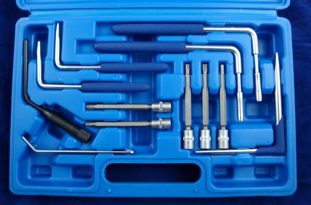 Toolzone 12Pc Airbag Removal Kit