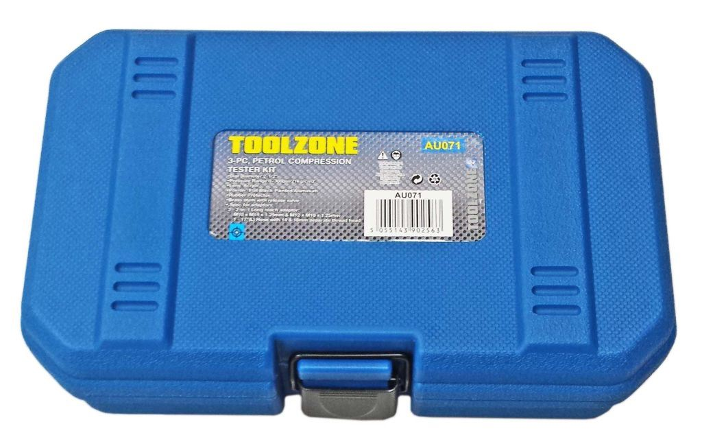 Toolzone 3Pc Petrol Compression Tester