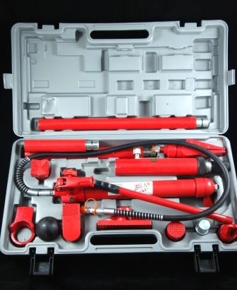 Toolzone 10 Ton Hydraulic Body Repair Kit