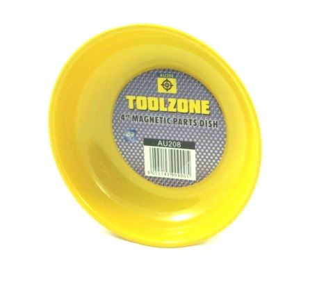 "Toolzone 4"" Magnetic Base Parts Dish"