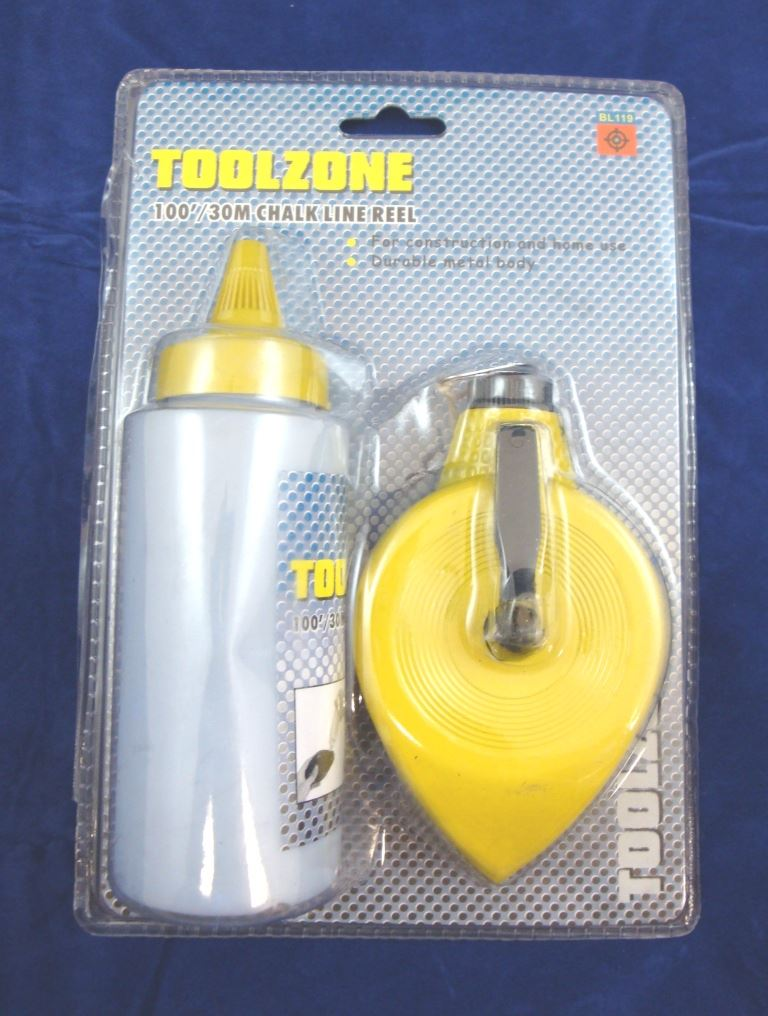 Toolzone Metal Chalkline & Chalk