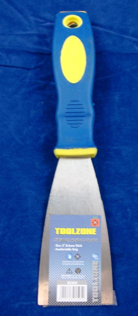 "Toolzone 2"" Soft Grip Scraper"