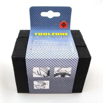 Toolzone 3Pc Foam Sanding Block