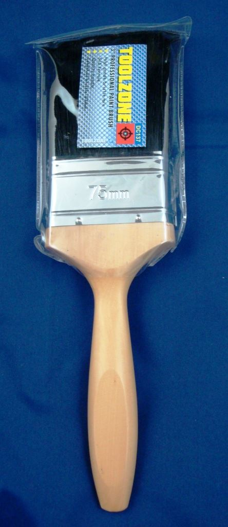 "Toolzone 3"" Pro Paint Brush"