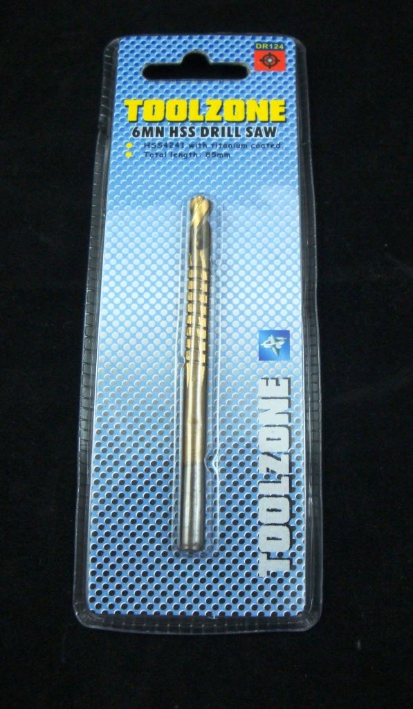 Toolzone 6Mm Drill & Saw Single