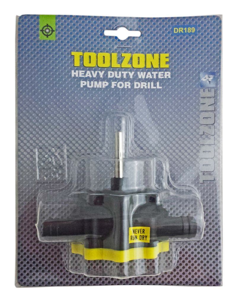Toolzone Heavy Duty Water Pump For Drill