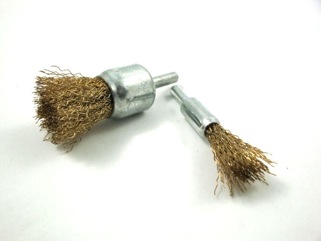 Toolzone 2Pc 12 & 25Mm Decarb Wire Brushes