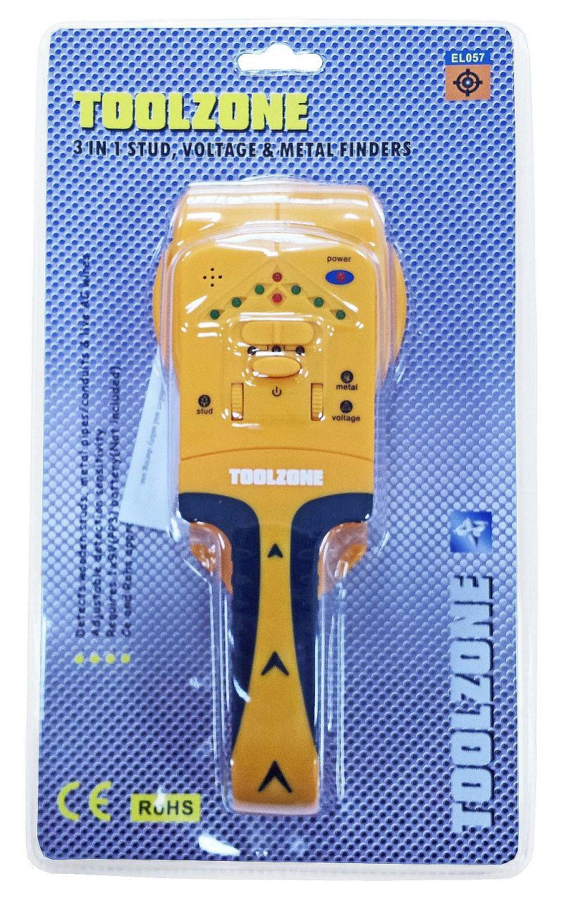 Toolzone 3 In 1 Detector