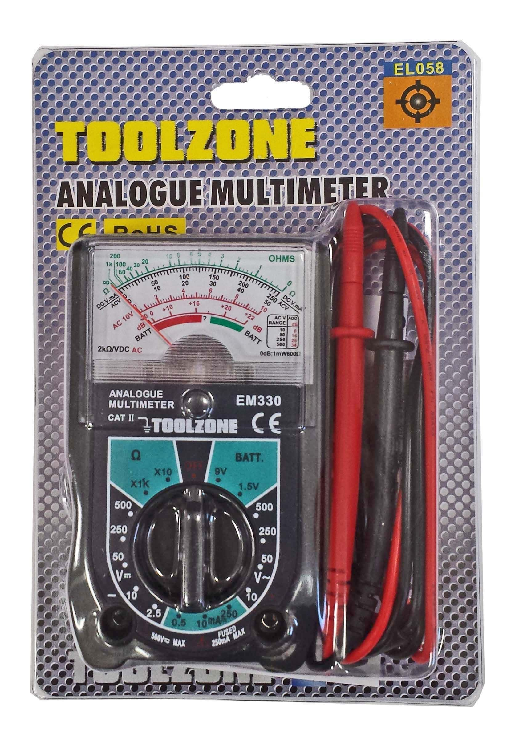 Toolzone Dial Multimeter