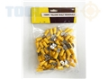Toolzone 100Pc Yellow Male Terminals