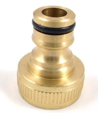 "Toolzone 3/4"" Brass Screw On Tap Fitting"
