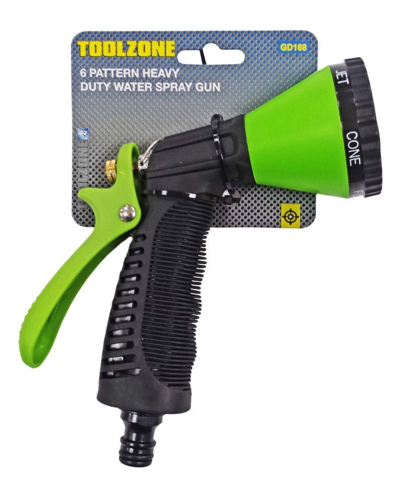 Toolzone 6 Pattern Green Hd Water Spray