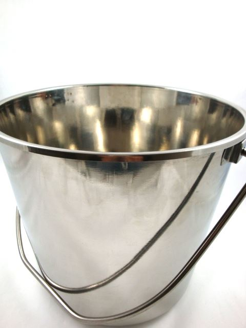 Toolzone 12 Litre Stainless Steel Bucket