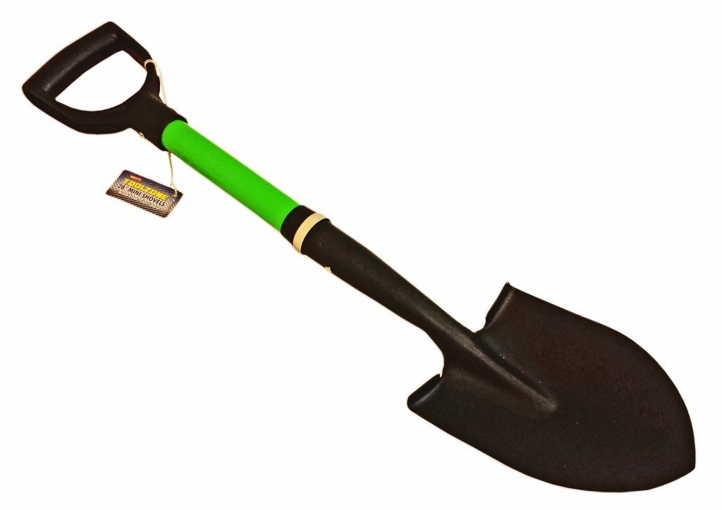"Toolzone 28"" Mini Shovel Fibre Handle"