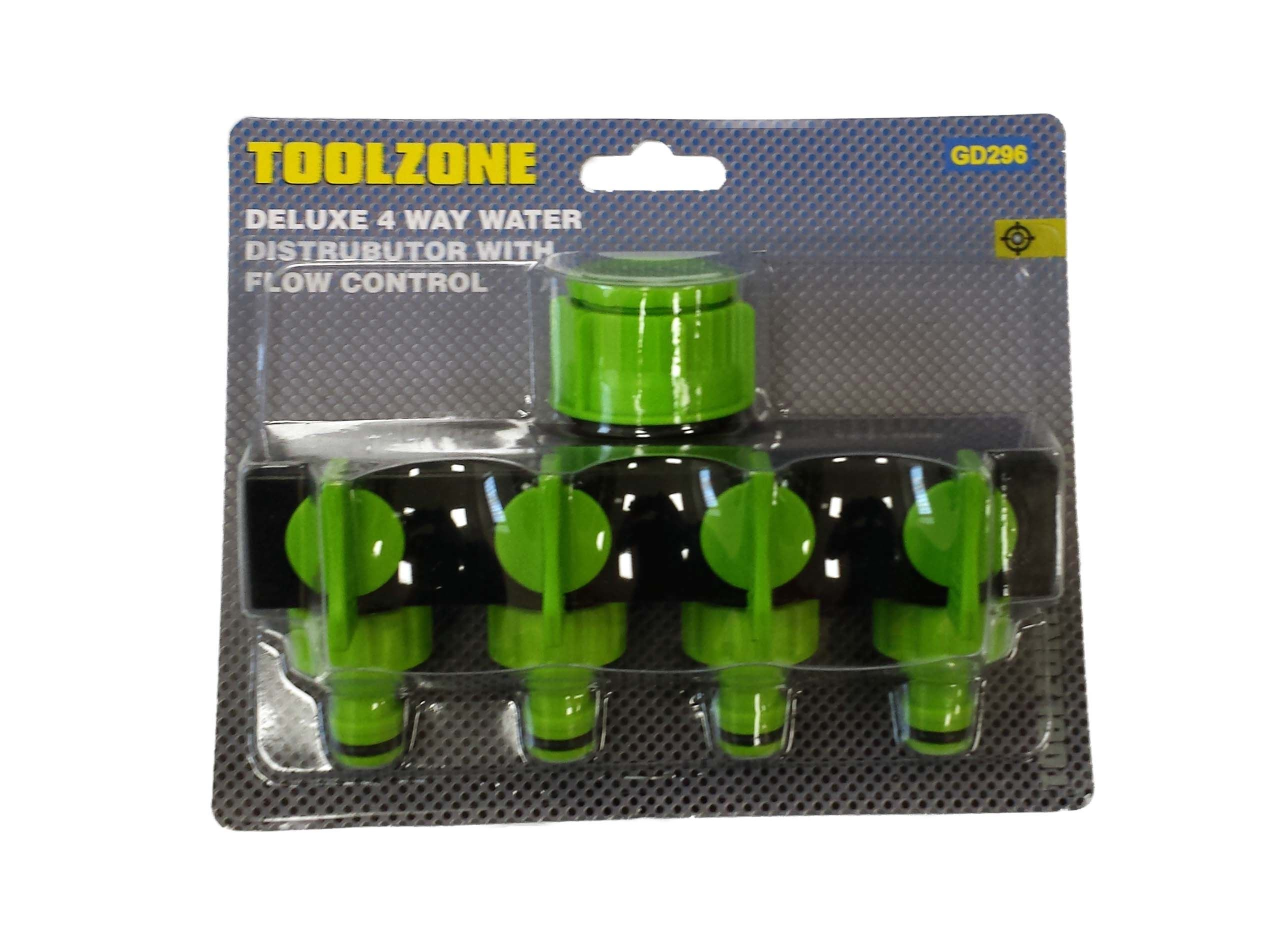 Toolzone Deluxe 4 Way Water Distributor