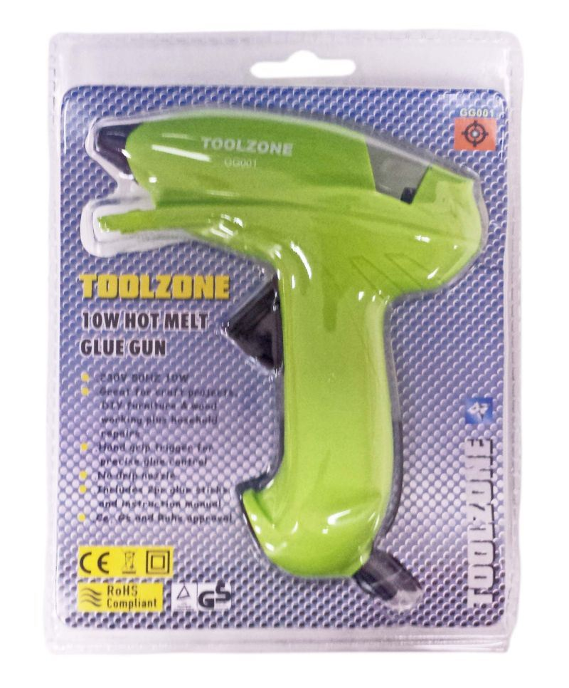 Toolzone 10W Mini Glue Gun