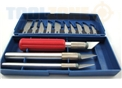 Toolzone 16Pc Precision Hobby Knife Set