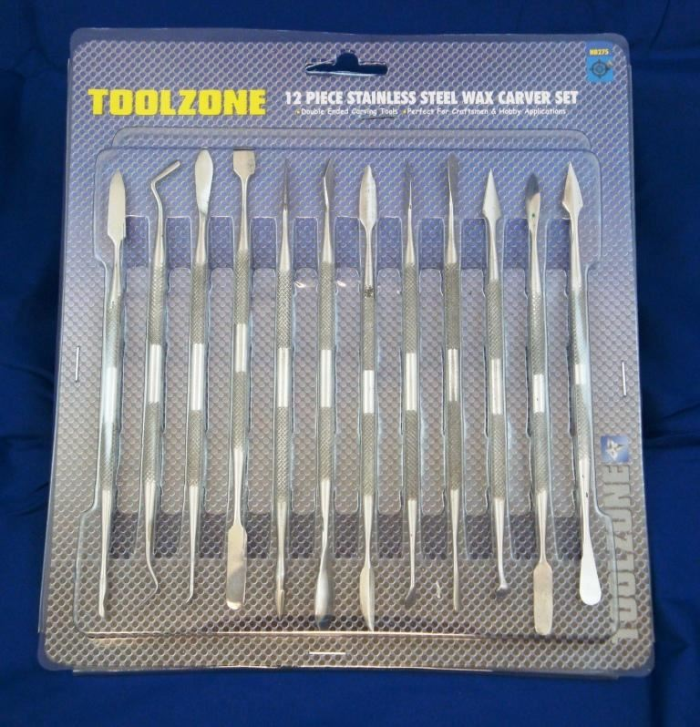 Toolzone 12Pc Wax Carver Set