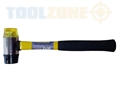 Toolzone 40Mm Rubber & Plastic Face Hammer
