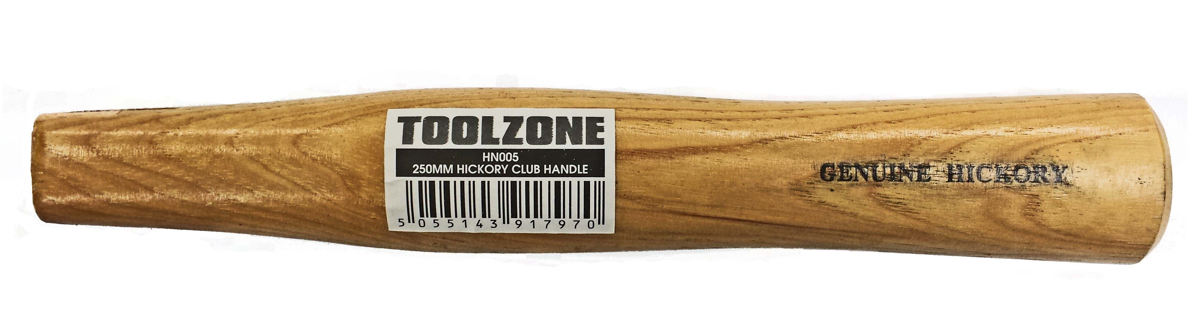 Toolzone 250Mm Hickory Club Hammer Handle