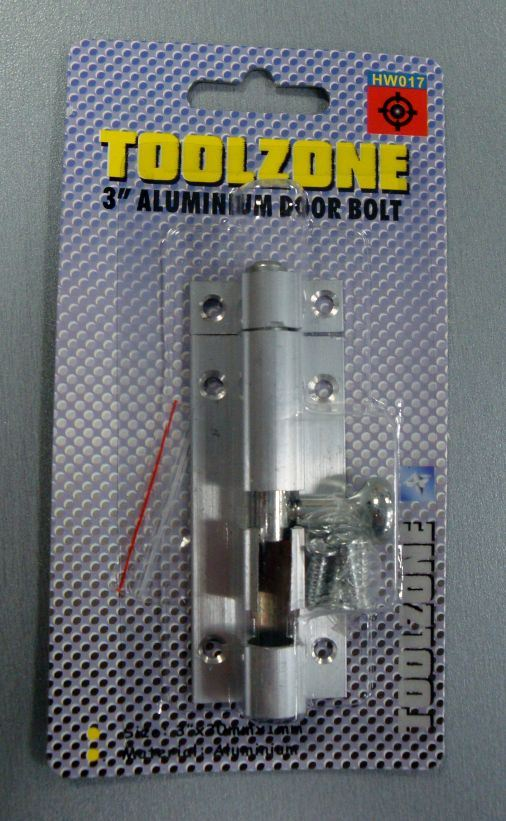 "Toolzone 3"" Aluminium Door Bolt"