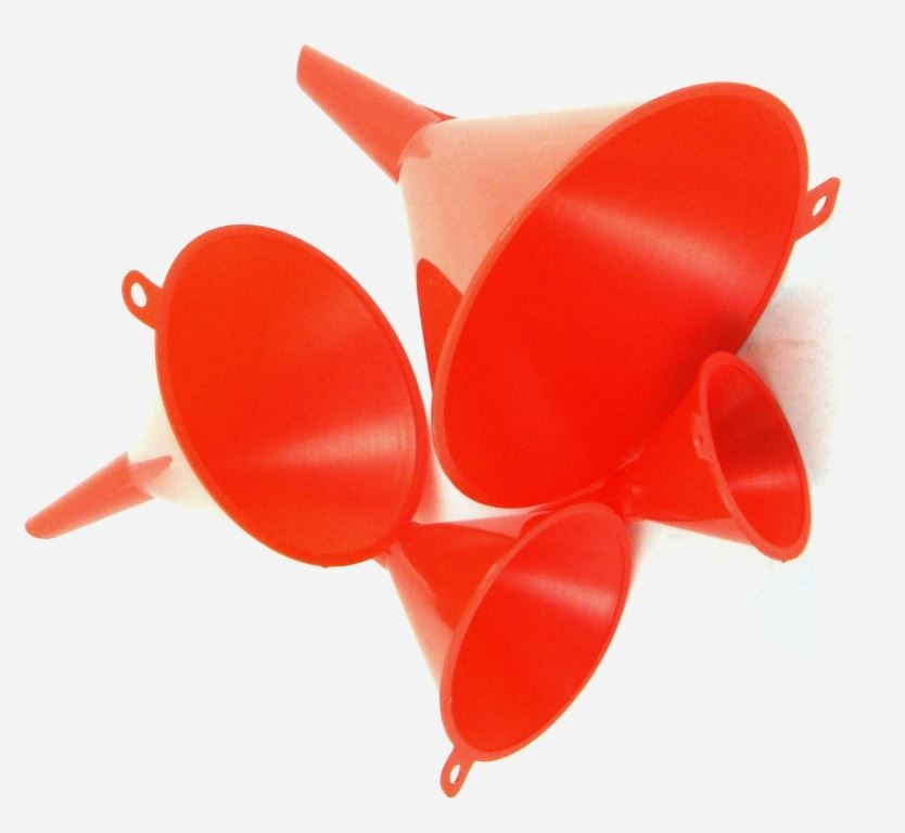 Toolzone 4Pc Funnel Set
