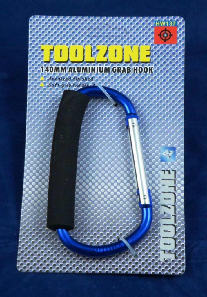 Toolzone 140Mm Jumbo Grab Hook