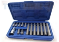 "Toolzone 15Pc Hex Bits & 1/2"" Adaptor"
