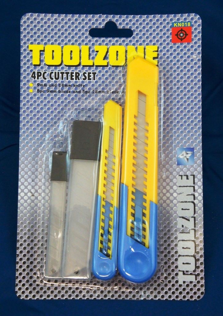 Toolzone 4Pc Cutter Set
