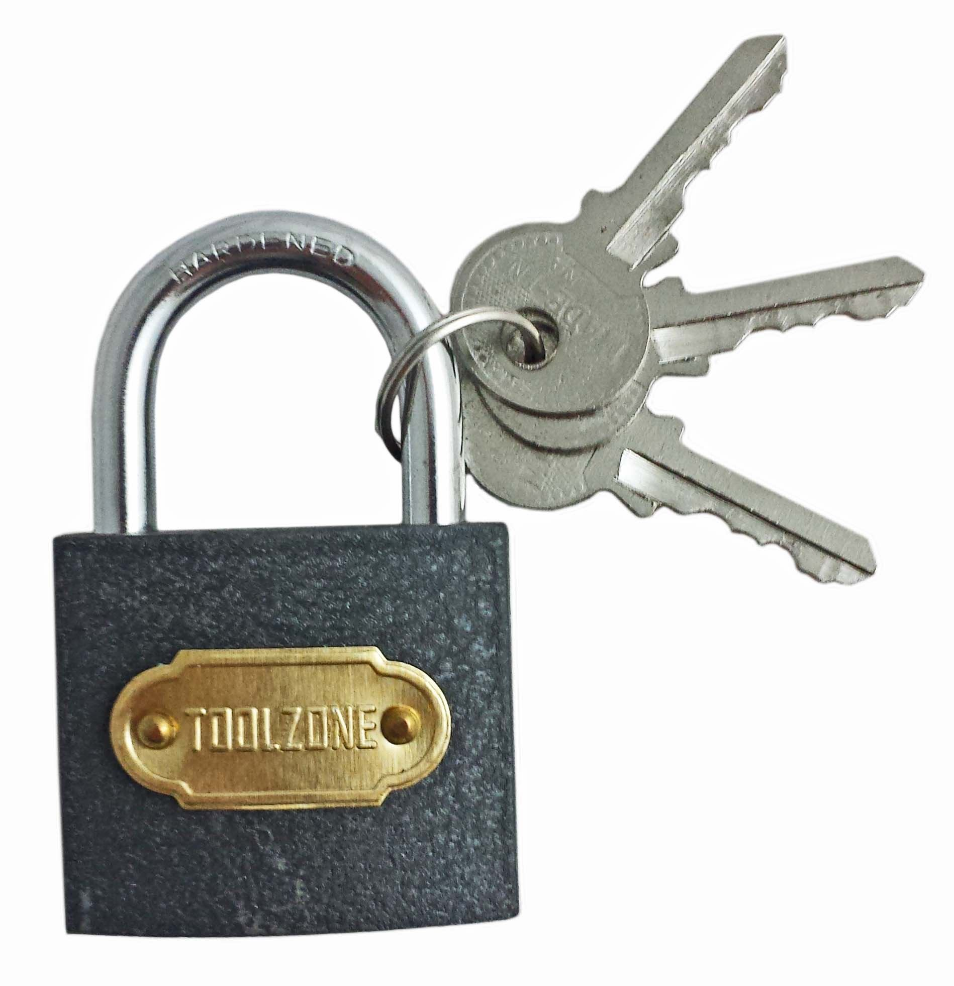 Toolzone 38Mm Cast Iron Padlock