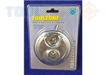 Toolzone 90Mm Disc Padlock