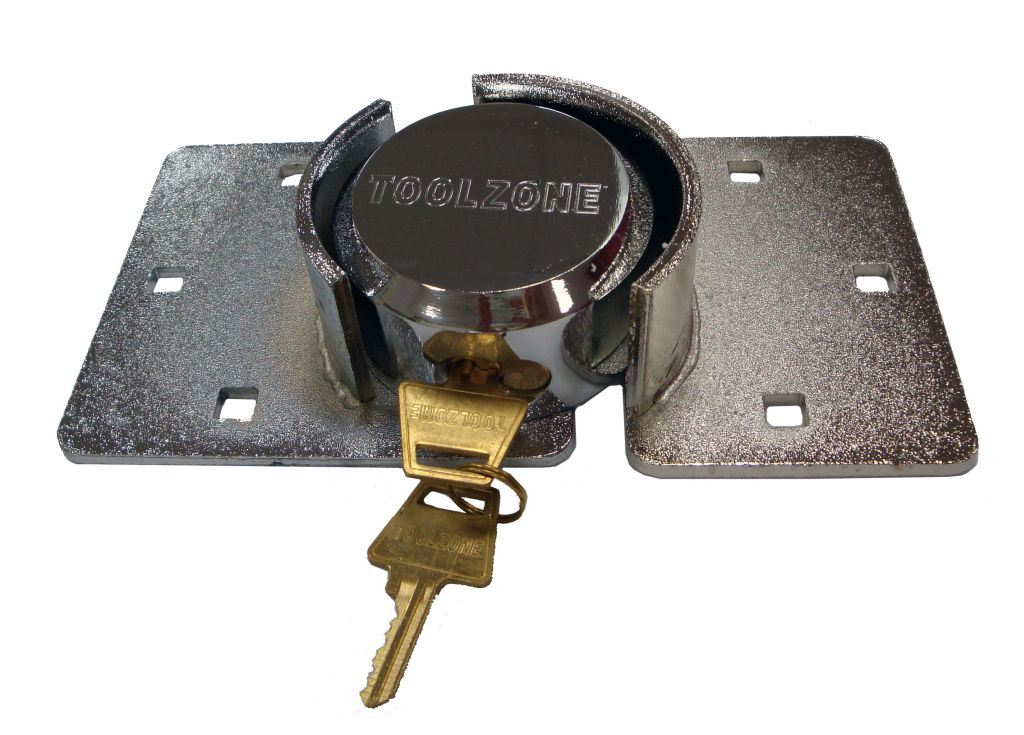 Toolzone 73Mm Shackless Hasp & Lock