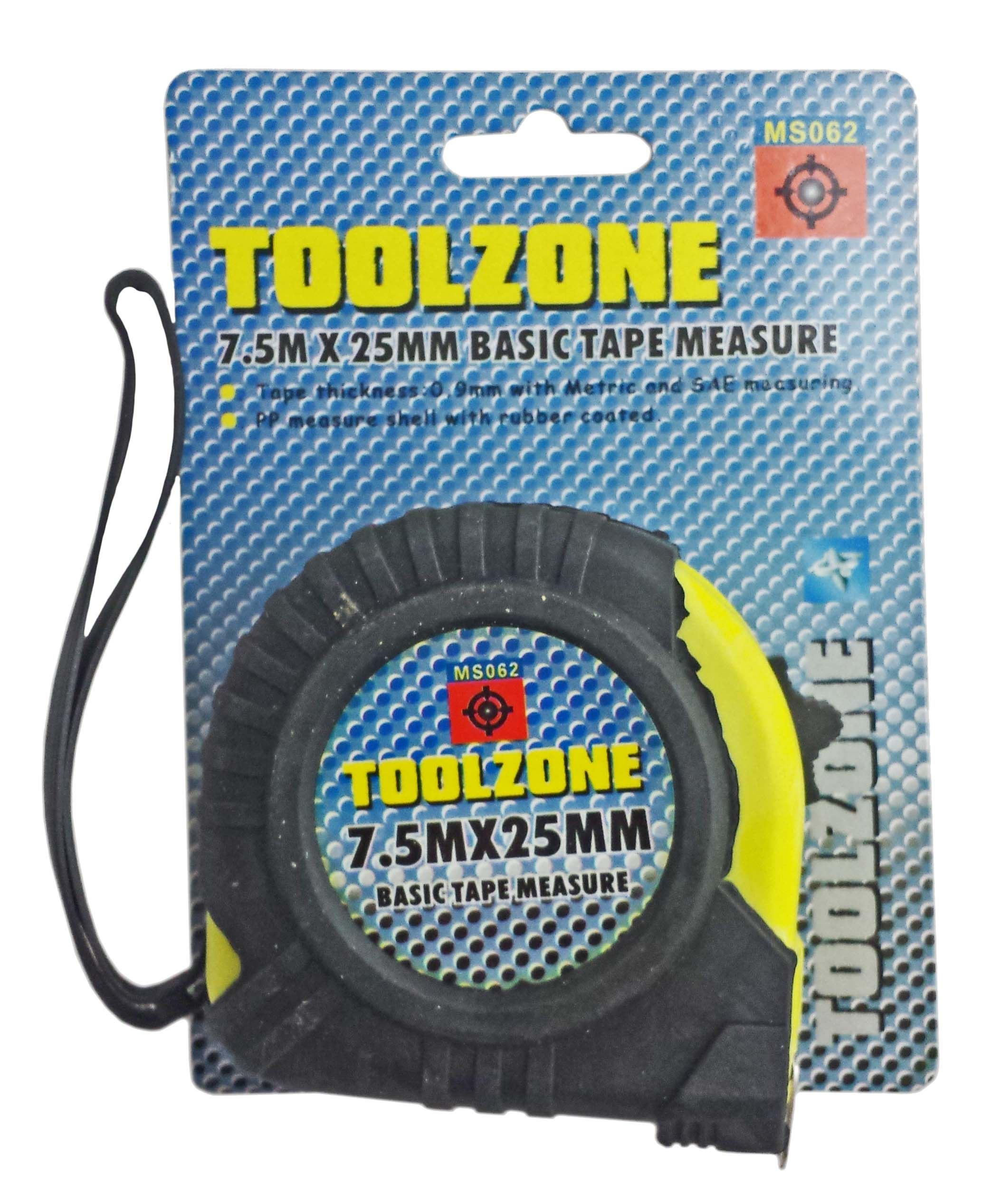 Toolzone 7.5M Basic Tape Measure