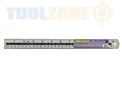 "Toolzone 12"" Aluminum Ruler"