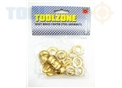 Toolzone 20Sets Brass Coated Grommets