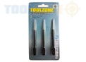 Toolzone 3Pc Centre Punch Set