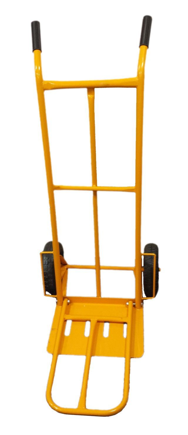 Toolzone Yellow Hd Sack Truck  With Fold Down Pla