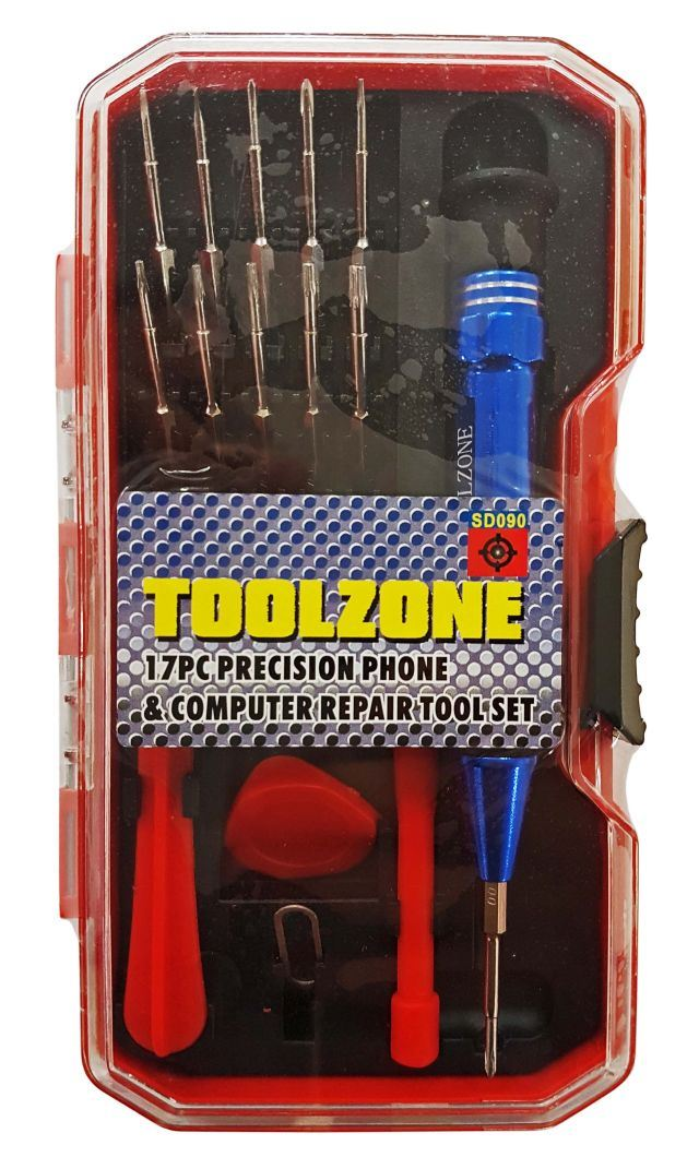 Toolzone 17Pc Prec. Mobile Phone & Computer Re