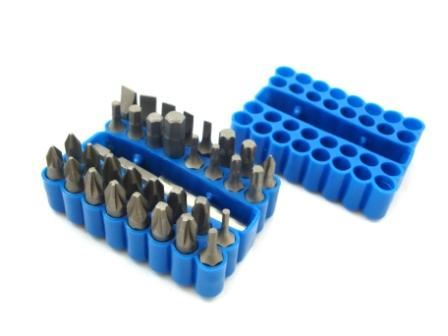 Toolzone 33Pc Crv Power Bit Set & Holder