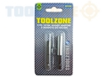 Toolzone 2Pc Magnetic Bit Holder And Adaptor
