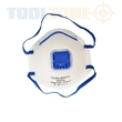 KDPSF040 TZ 3PC DUST MASKS WITH VALVE RESPIRATORS