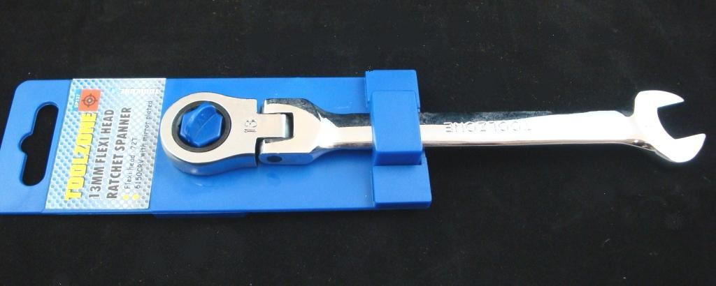 Toolzone 13Mm Flexi Ratchet Combi Spanner