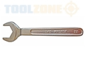 Toolzone Open End Gas Bottle Spanner 27Mm
