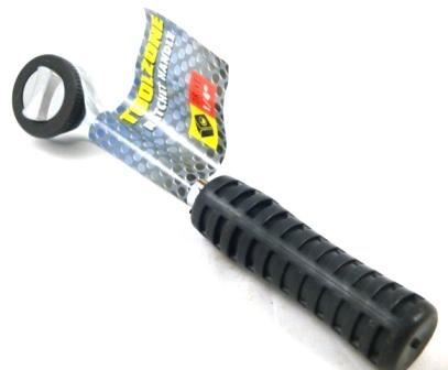 "Toolzone 1/4""Dr Rubber Grip Ratchet Handle"